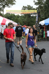 Game Fair is one of the few events where bringing your dogs (on leash) is encouraged.