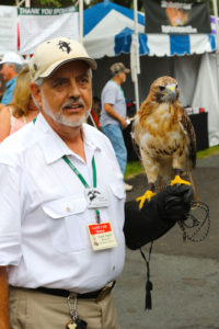 It's also a place to meet Master Falconers like Frank Taylor who has spent a lifetime working with these special birds of prey.
