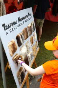 Game Fair is also learning about the natural environment. You can talk to expert hunters, trappers, and conservation officers to get all of your questions answered.